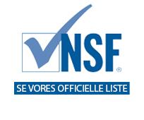 NSF gokendte produkter